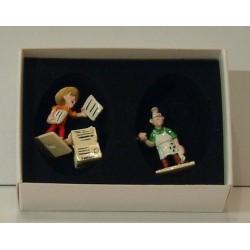 Figurine Boite complément imprimerie Lucky Luke - Pixi 02451