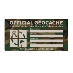 Geocaching Autocollant...