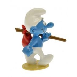 Figurine Le Schtroumpf baluchon - PEYO - Pixi