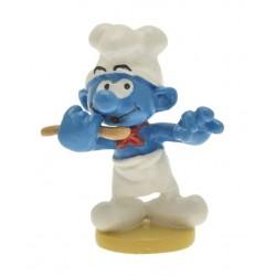 Figurine Le Schtroumpf cuisinier - PEYO - Pixi
