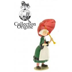 Figurine Becassine parapluie ouvert - Collection Origine Bécassine - GAUTIER / LANGUEREAU - Pixi 06447